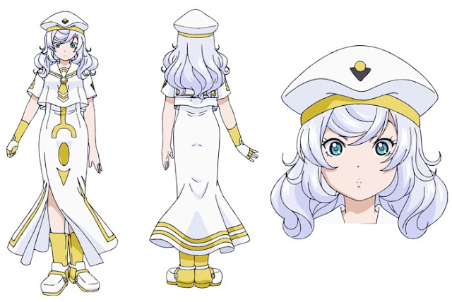Aria The Avvenire personajes