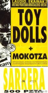 entrada de concierto de toy dolls