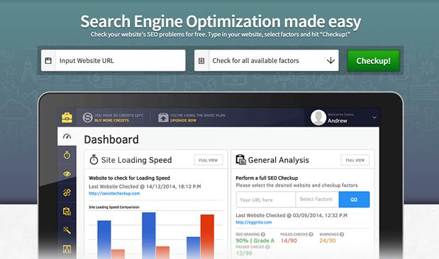 Realiza un análisis SEO de tu sitio web con SEO Site Checkup.