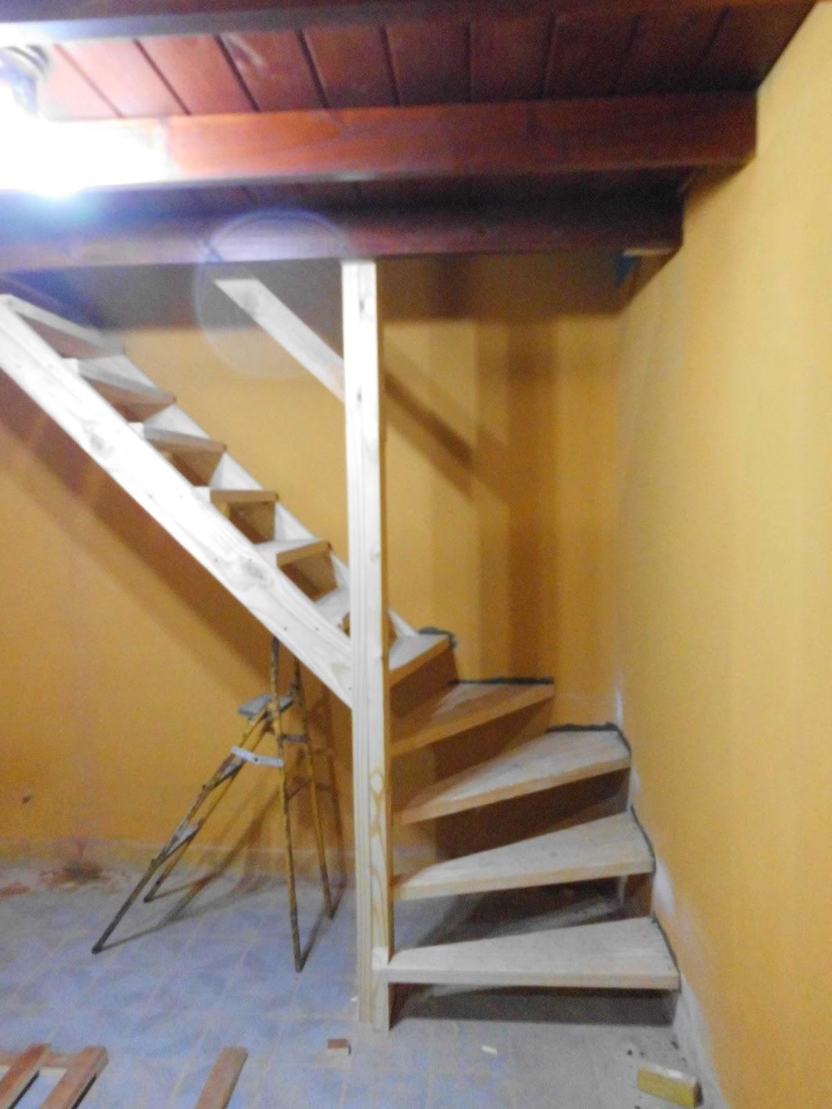 Entrepisos de madera escaleras escaleras - Escalera hierro y madera ...