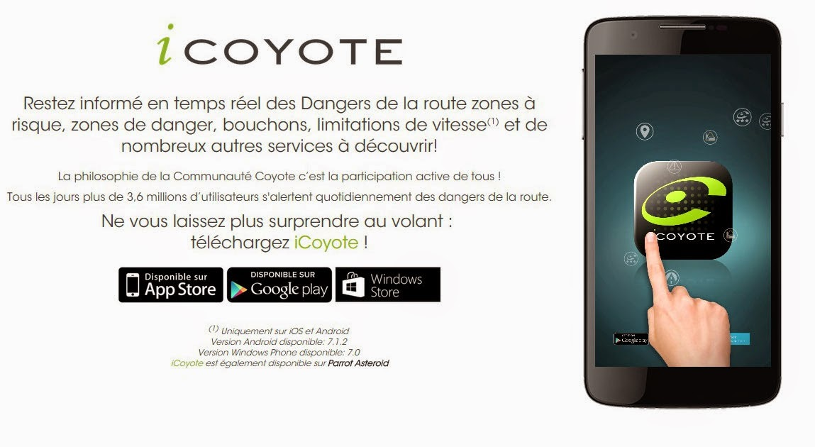 voiture communicante coyote se renforce dans les applications. Black Bedroom Furniture Sets. Home Design Ideas