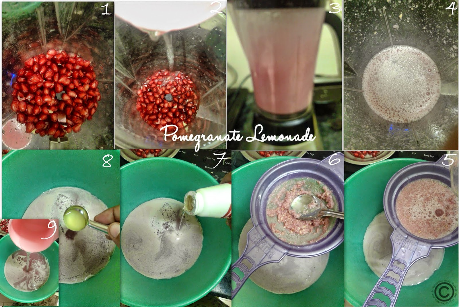 how to get juice out of pomegranate