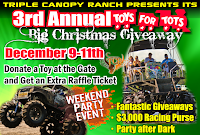 Get ready Florida mud boggers Triple Canopy Ranchu0027s 3rd Annual Christmas Toys for Tots mud bog is just 10 days away starting Friday December 9th through ...  sc 1 st  Mud Bogs & Mud Bog at Triple Canopy Ranch December 9-11th | Mudding - Mud ...