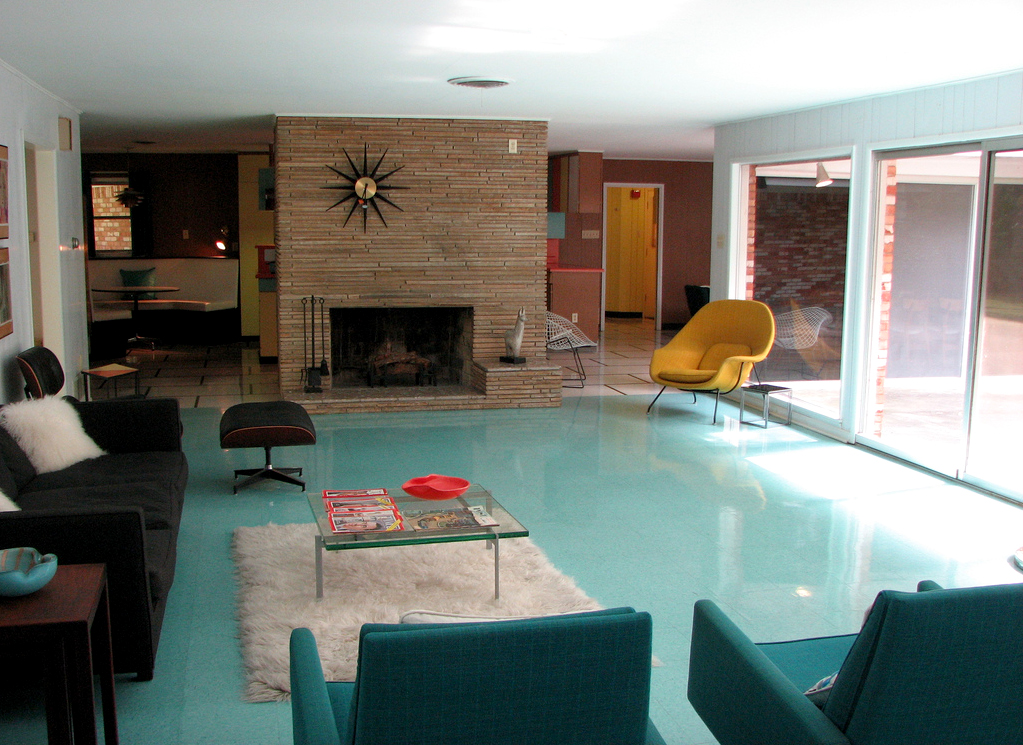 Mid centuria art design and decor from the mid century for Modern ranch house decor