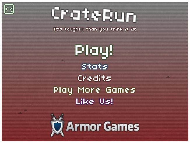 Armor Game : CrateRun