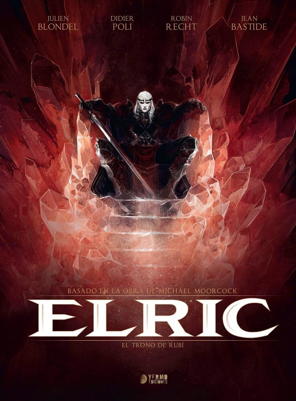 Elric el trono de rubi comic yermo ediciones