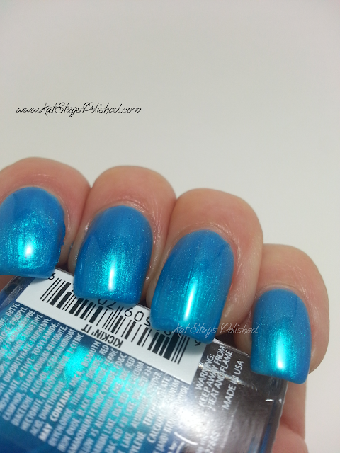 JulieG Nail Color - Kickin' It