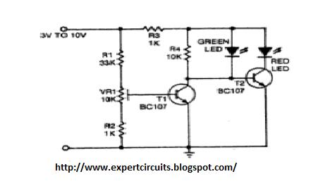 Battery Level Indicator Circuit Diagram | Electronics Projects Battery Level Indicator