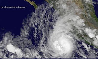 Jova, Satellitenbild Satellitenbilder, Mexiko, Das Wort zum, Wissenswertes Sturm und Hurrikan, Oktober, 2011, Hurrikansaison 2011, Nayarit,  Puerto Vallarta, Manzanillo, Colima, Jalisco, aktuell,  major hurricane,