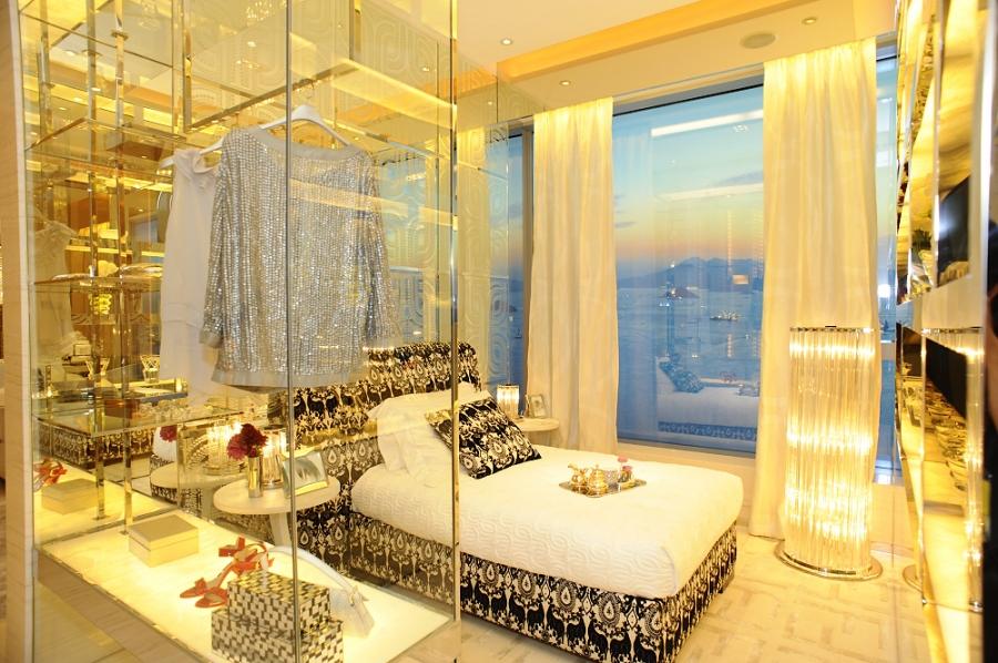 Sonsuz dekorasyon yatak odalari for Rich home designs