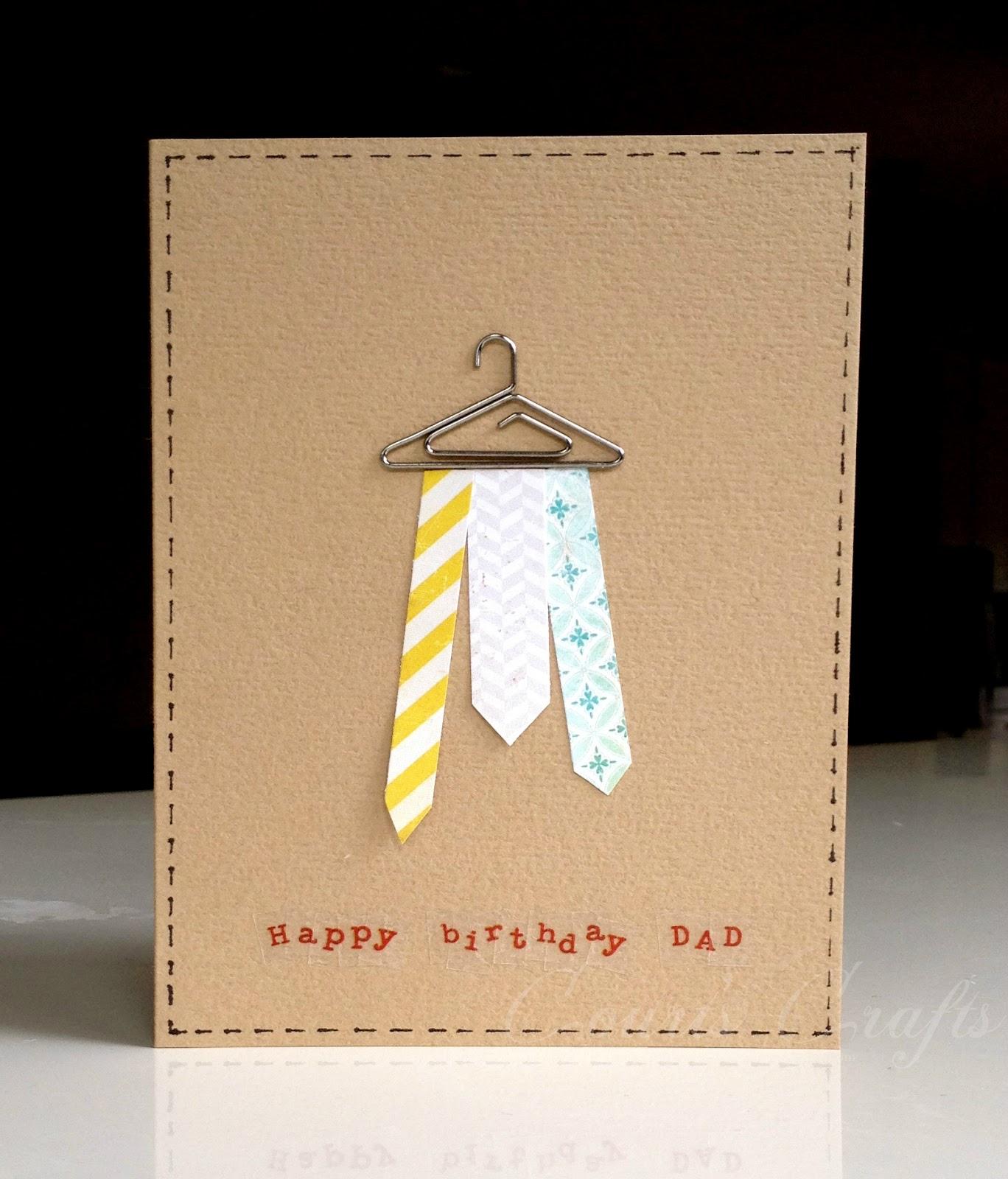 Court's Crafts: Happy Birthday Dad