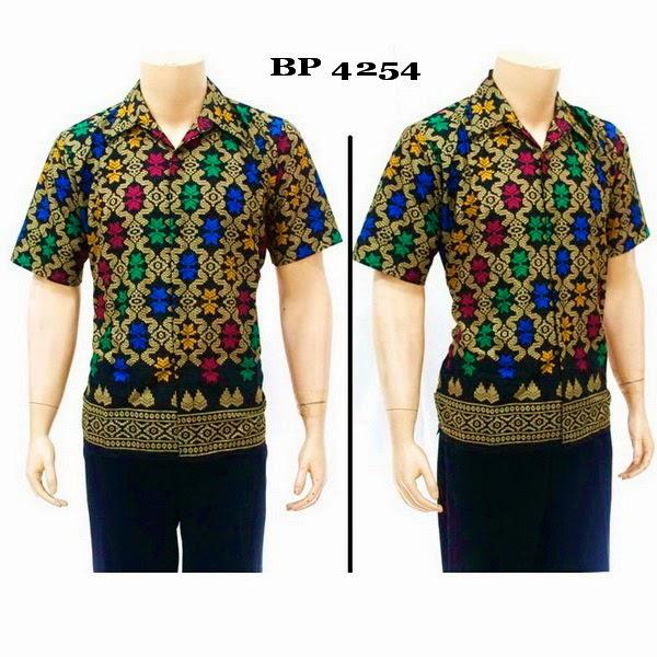 Baju Hem Batik Pria BP4254