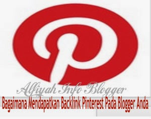 Backlink -Pinterest- in- Blogger