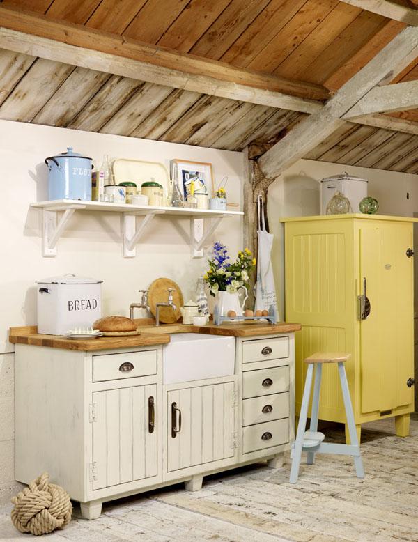 Estilo rustico cocinas en casas de campo for Cocinas de campo