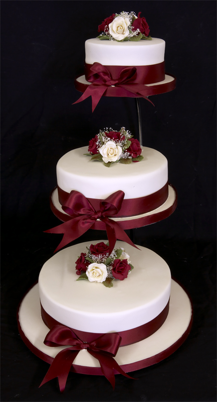 Impressive 3 Tier Wedding Cake Stands 433 x 800 · 179 kB · jpeg