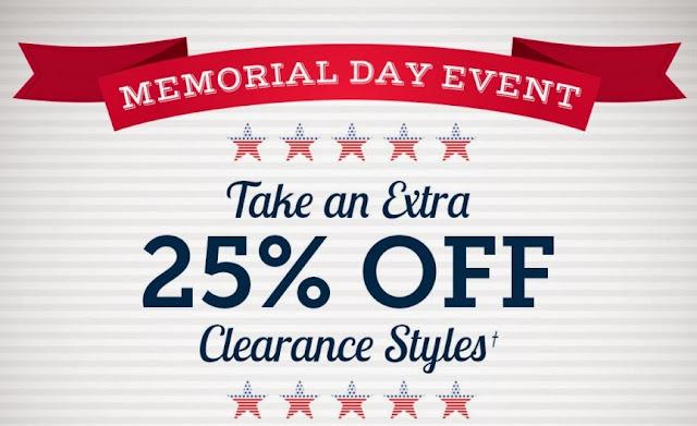Memorial Day Weekend Shopping 2015