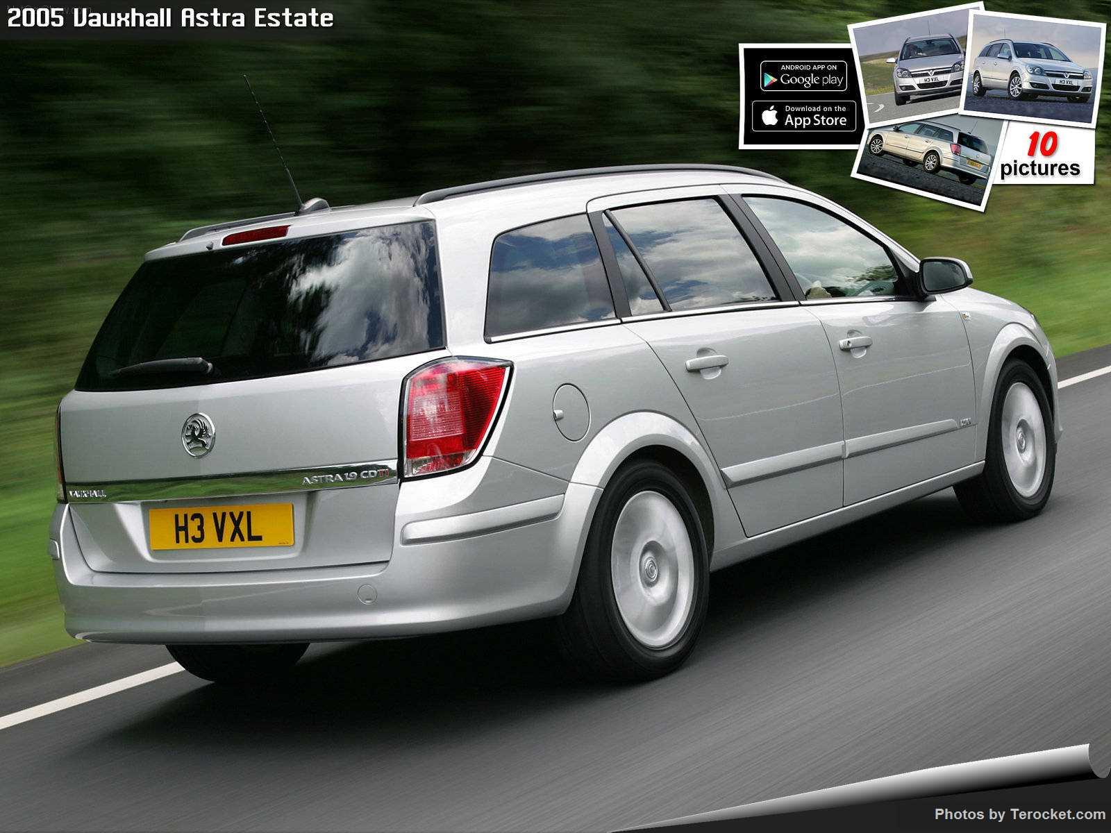 Hình ảnh xe ô tô Vauxhall Astra Estate 2005 & nội ngoại thất