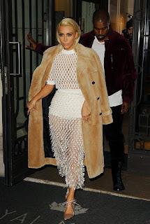 Kim Kardashian at Balenciaga Fashion Show in Paris 4.jpg