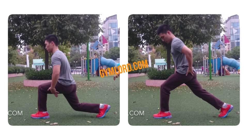 Bài tập split squat săn chắc mông đùi cho nữ