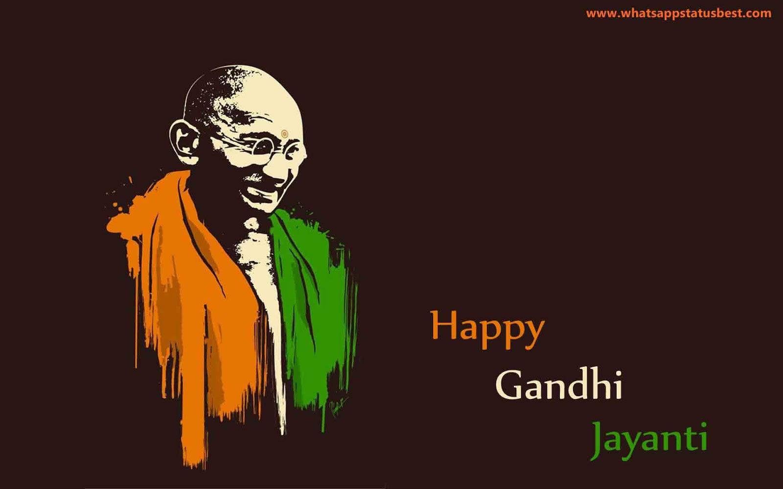 Happy Gandhi Jayanthi Images Free Download Wallpapers Profile