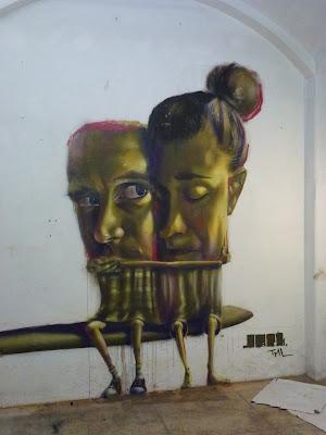 Streetart, Urbanart, Live-Painting, Graffiti