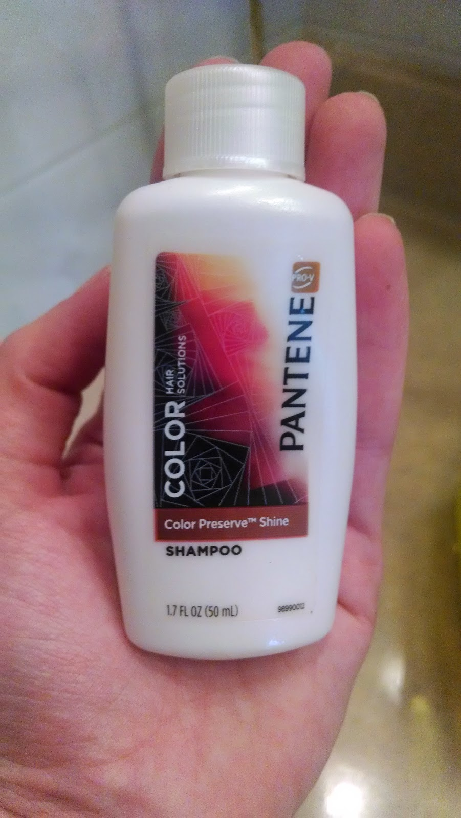 Pantene Color Preserve Shampoo