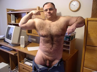 hairy daddy dick - daddy muscular