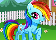 MLP Rainbow Dash Day Care juego