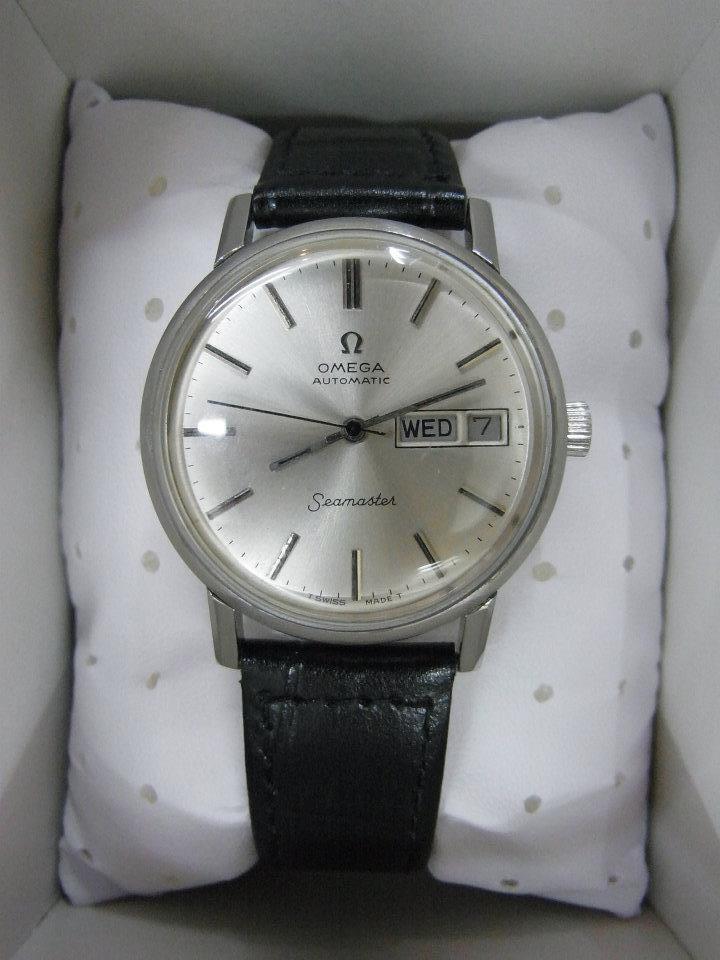 omega used watches seamaster