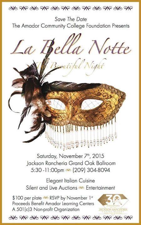 La Bella Notte - Sat Nov 7