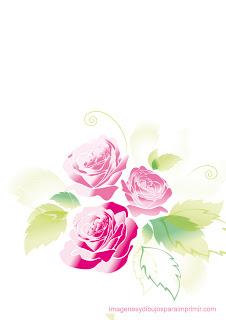 Rosas rosas  romanticas  Rosas rosas para imprimir