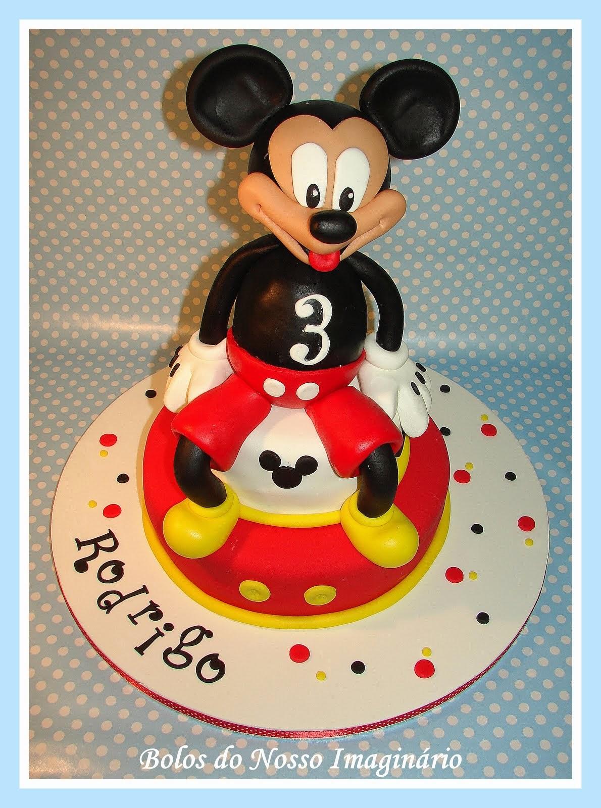 Bolo de Aniversário Mickey