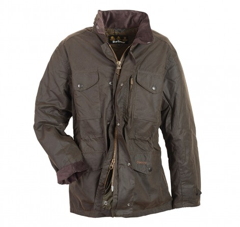 Grey Fox Staying Dry Naturally And Stylishly Barbour