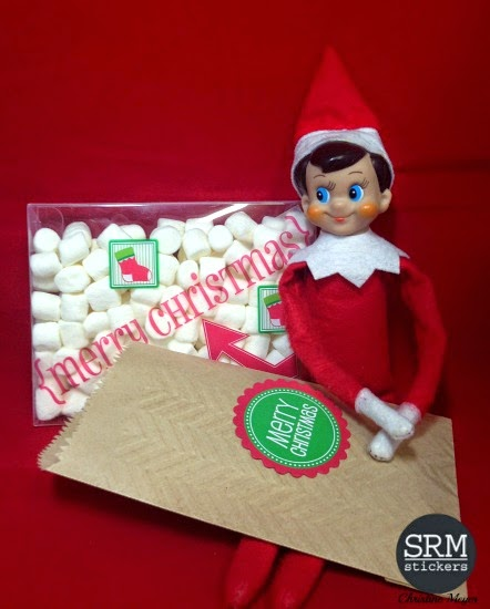 SRM Stickers - Christine Meyer - #kraft #stickers #christmas #srmstickers
