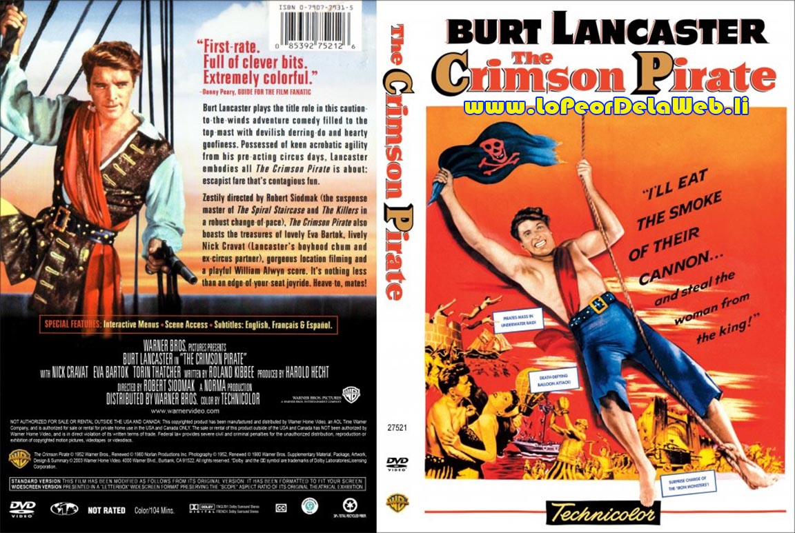 The Crimson Pirate (1952 / Burt Lancaster)