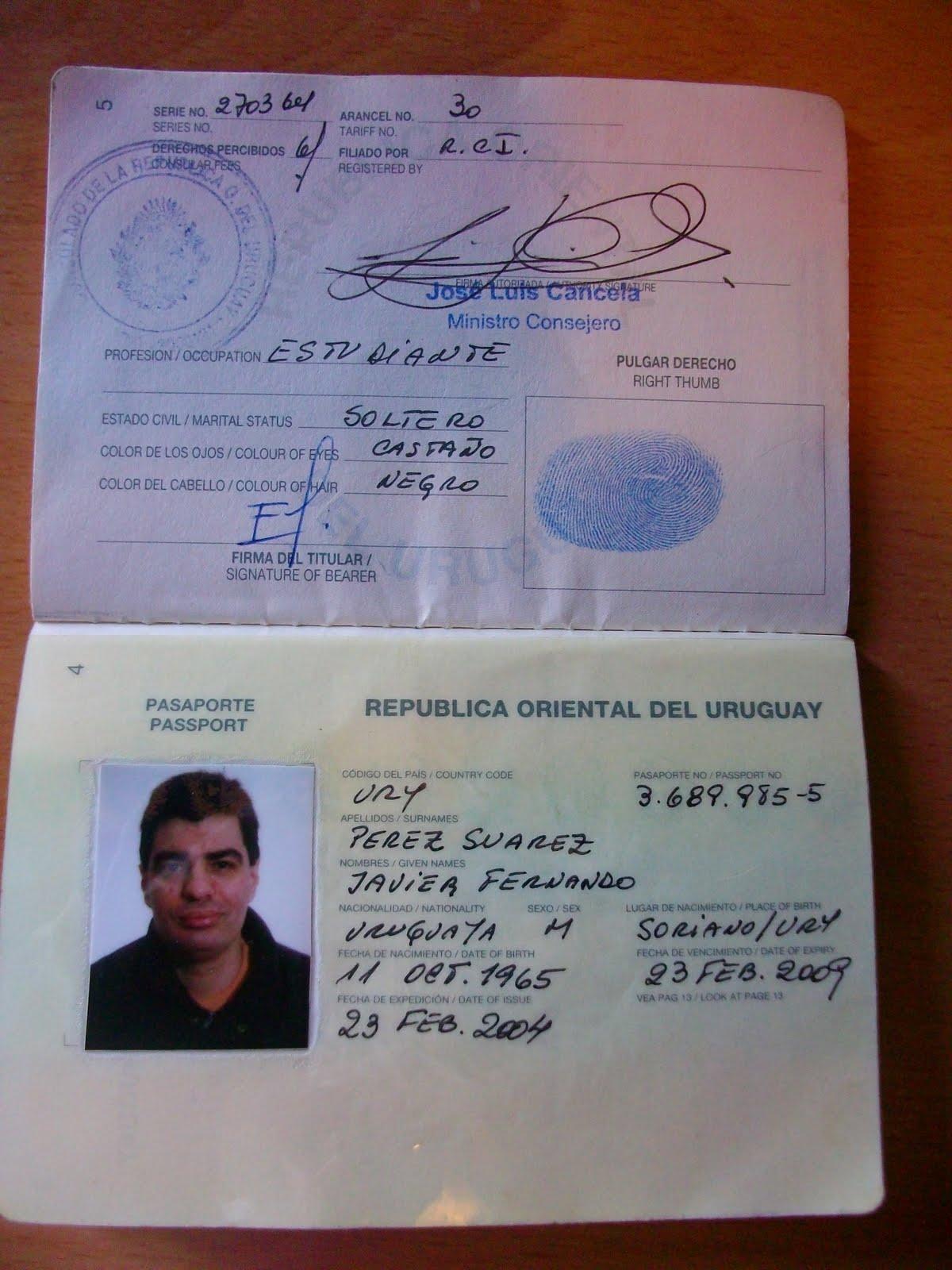 Habilitacion pasaporte cubano cubanos en miami for Pasaporte ministerio interior