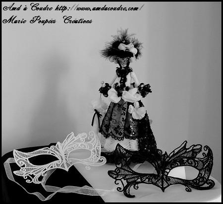masque et poupée carnaval de venise