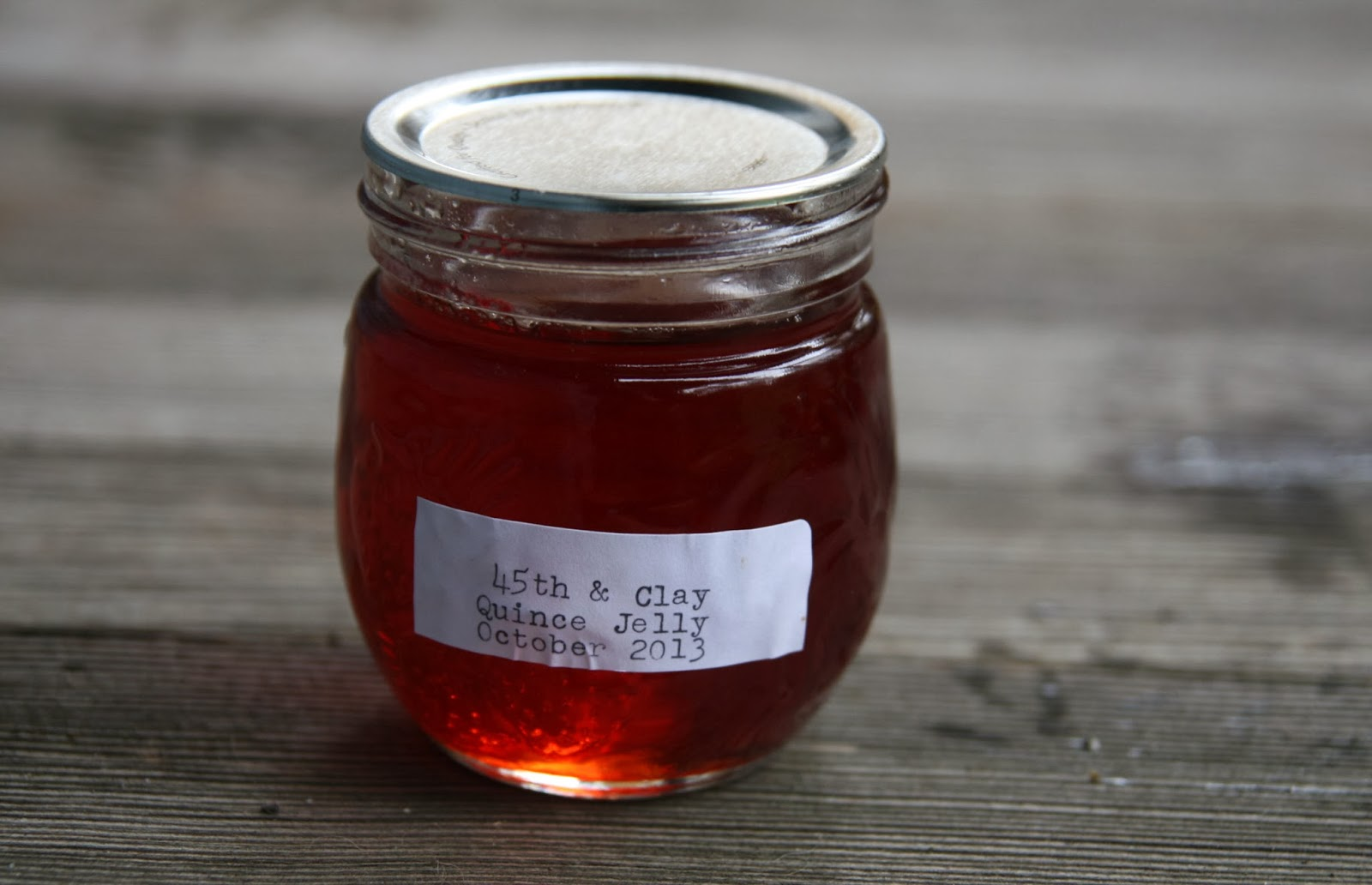 Quince Jelly Recipe | mostly foodstuffs