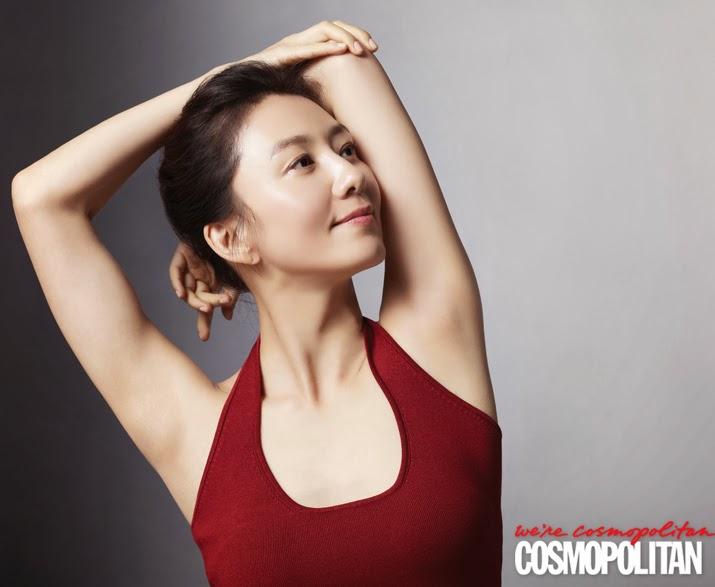 Kim Hee Ae - Cosmopolitan Magazine March Issue 2014