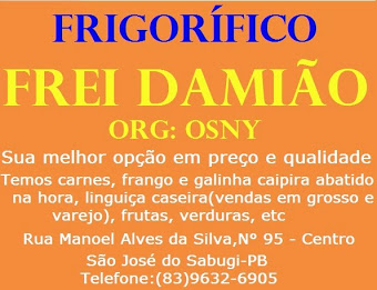 Frigorífico Frei Damião