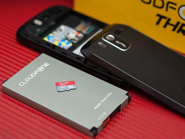 How much is cloudfone thrill 430d review