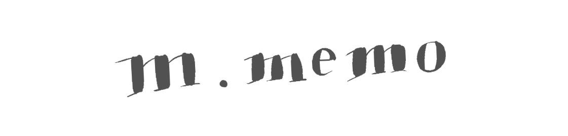 m . memo