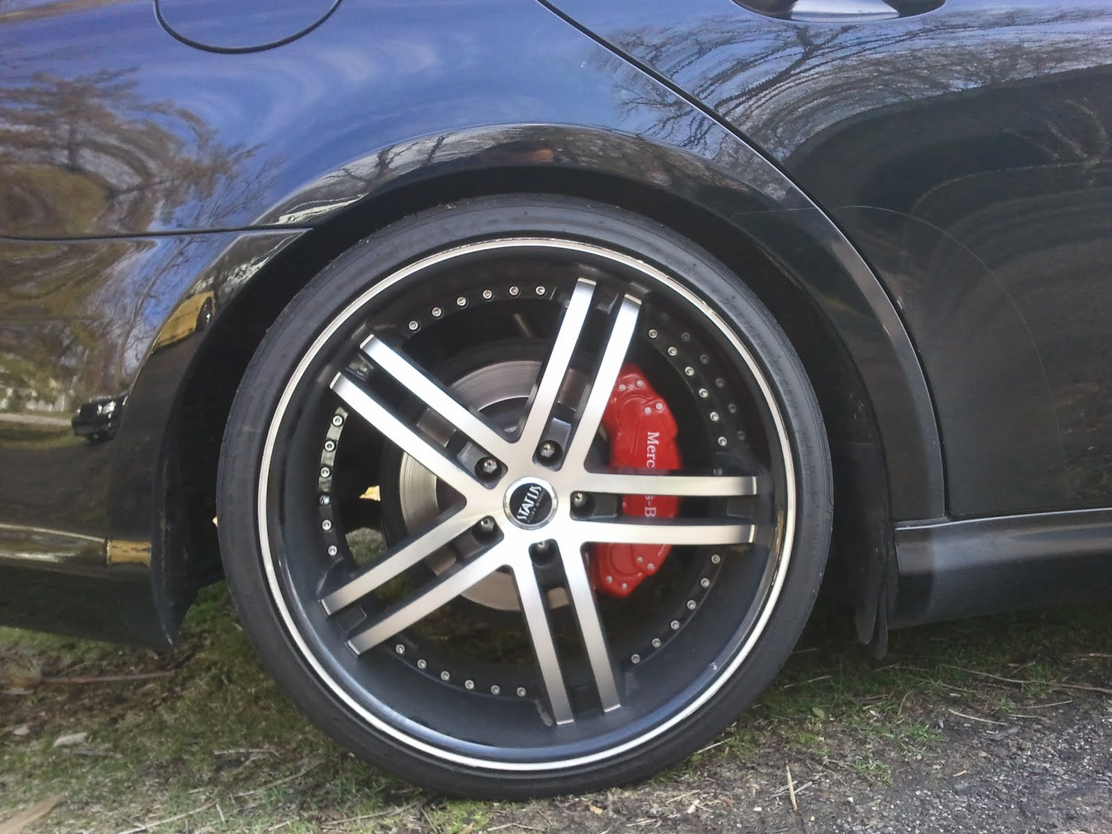 Ravenus Studios Mercedes Cls Brake Caliper Covers
