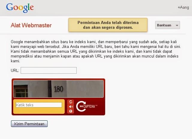Tambahkan ke Index Google4