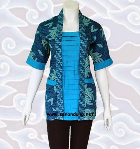 blus batik pekalongan