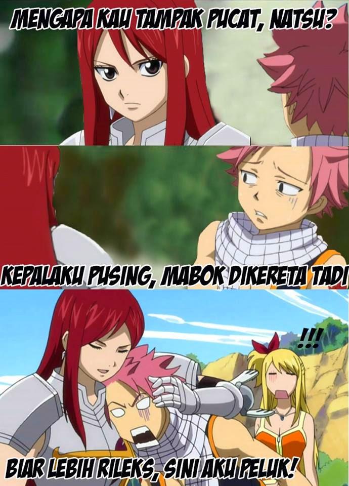 Fairy Tail Meme Erza Natsu Lucy