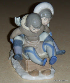 "Lladro ""Hang On"" #5665"