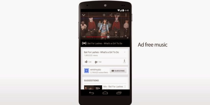 YouTube lance un abonnement payant