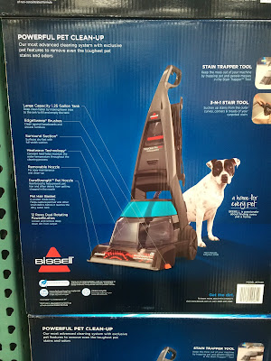 Bissell DeepClean Proheat Professional Pet Carpet Cleaner for households with dogs or cats
