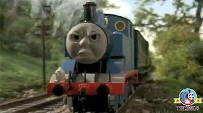 I don't want new coaches Annie and Clarabel Thomas the train blue number one engine chuffed